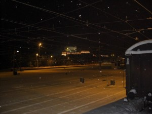 Winterlicher Abendspaziergang in Kufstein
