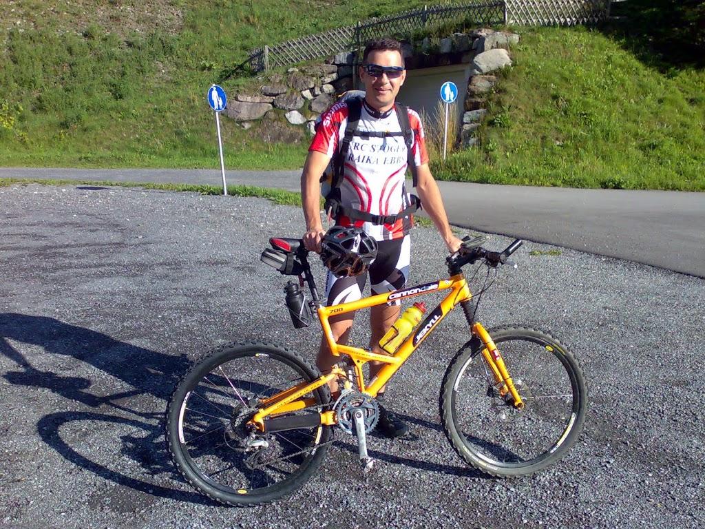 Bike Trail Tirol, Start in St. Anton