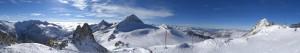 Traumtag am Hintertuxer Gletscher – nur etwas windig