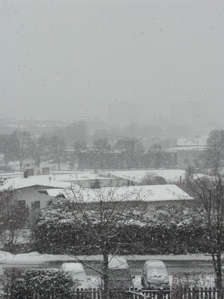In Kufstein merkt man nicht viel vom Schneechaos…