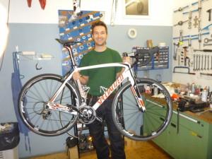Neues Rennrad für die 2013'er Saison