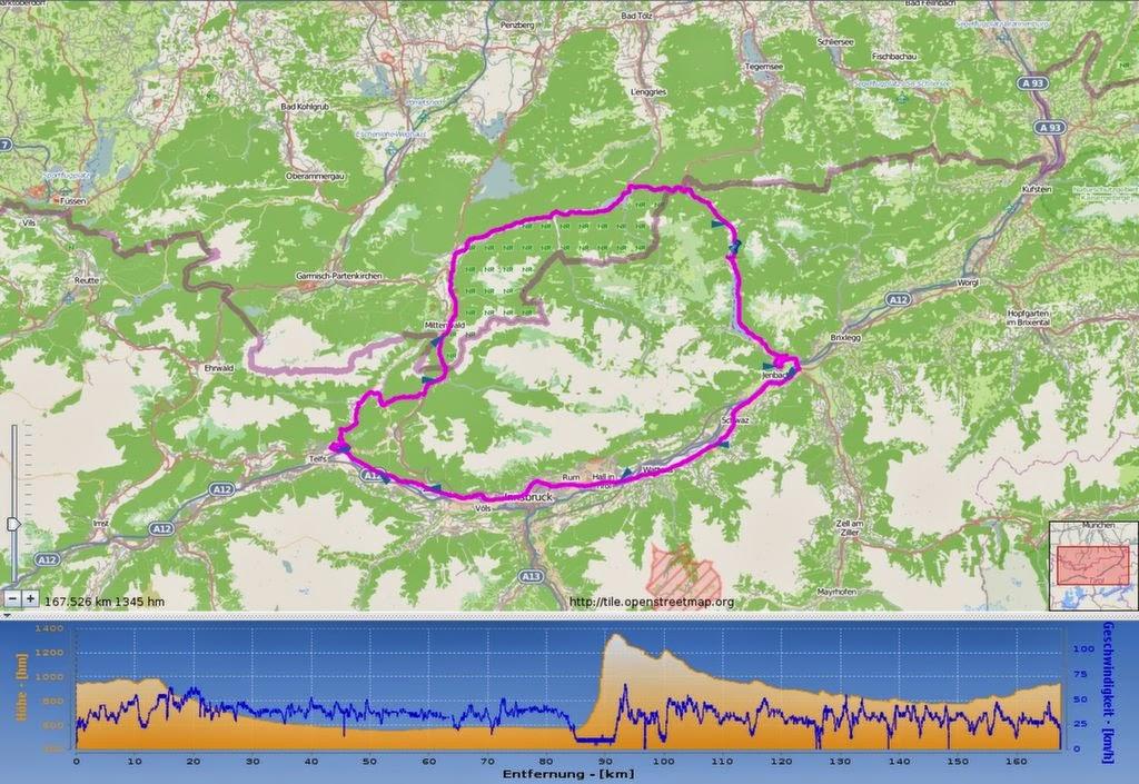 Achensee Radmarathon 2014 – Arschkalt