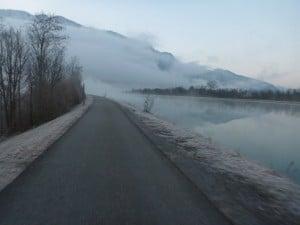 Nebel am Inn