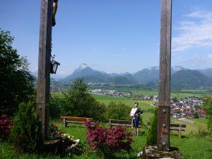 Aussicht von St. Nikolaus in Richtung Pendling