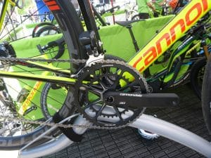 Supersix Evo Disc - Cannondale HollowGram SpideRing, 52/36