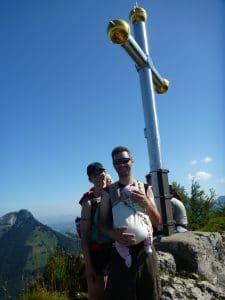 obligatorisches Kranhorn Gipfelfoto