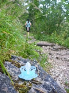 So sehen wahre Bergtragödien aus - gut dass der nicht von uns war! ;-)