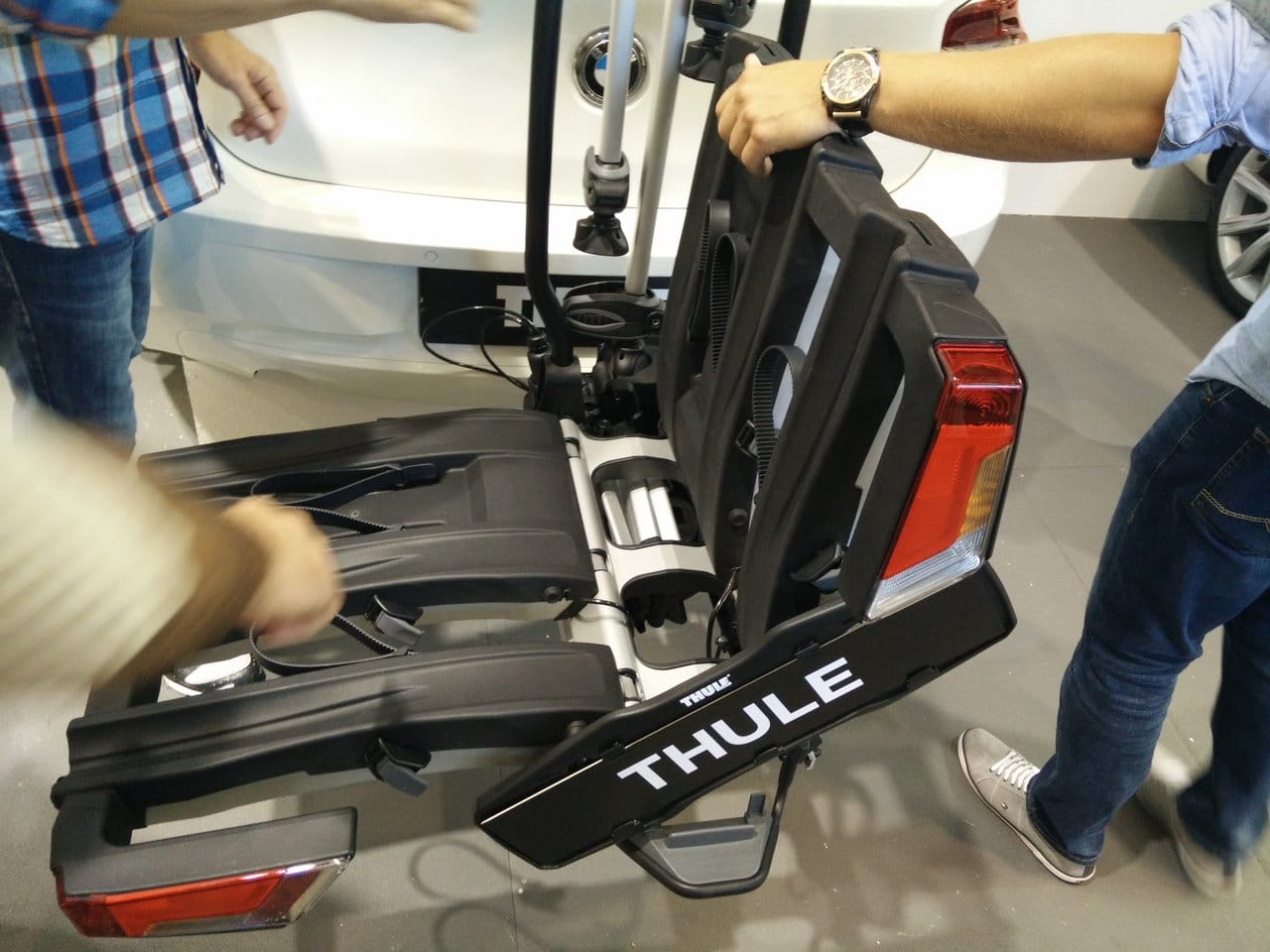 eurobike 2016 thule fahrradtr ger easyfold xt sportgaudi. Black Bedroom Furniture Sets. Home Design Ideas