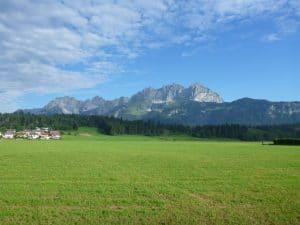 Das Kaisergebirge - eine Augenweide