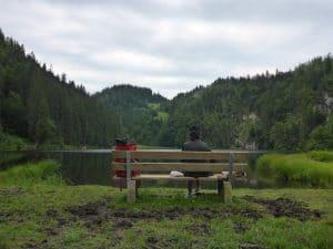Stillplatz mit Aussicht