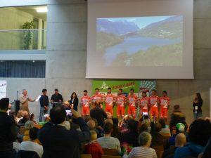 Tour oft the Alps 2017 Teampräsentation