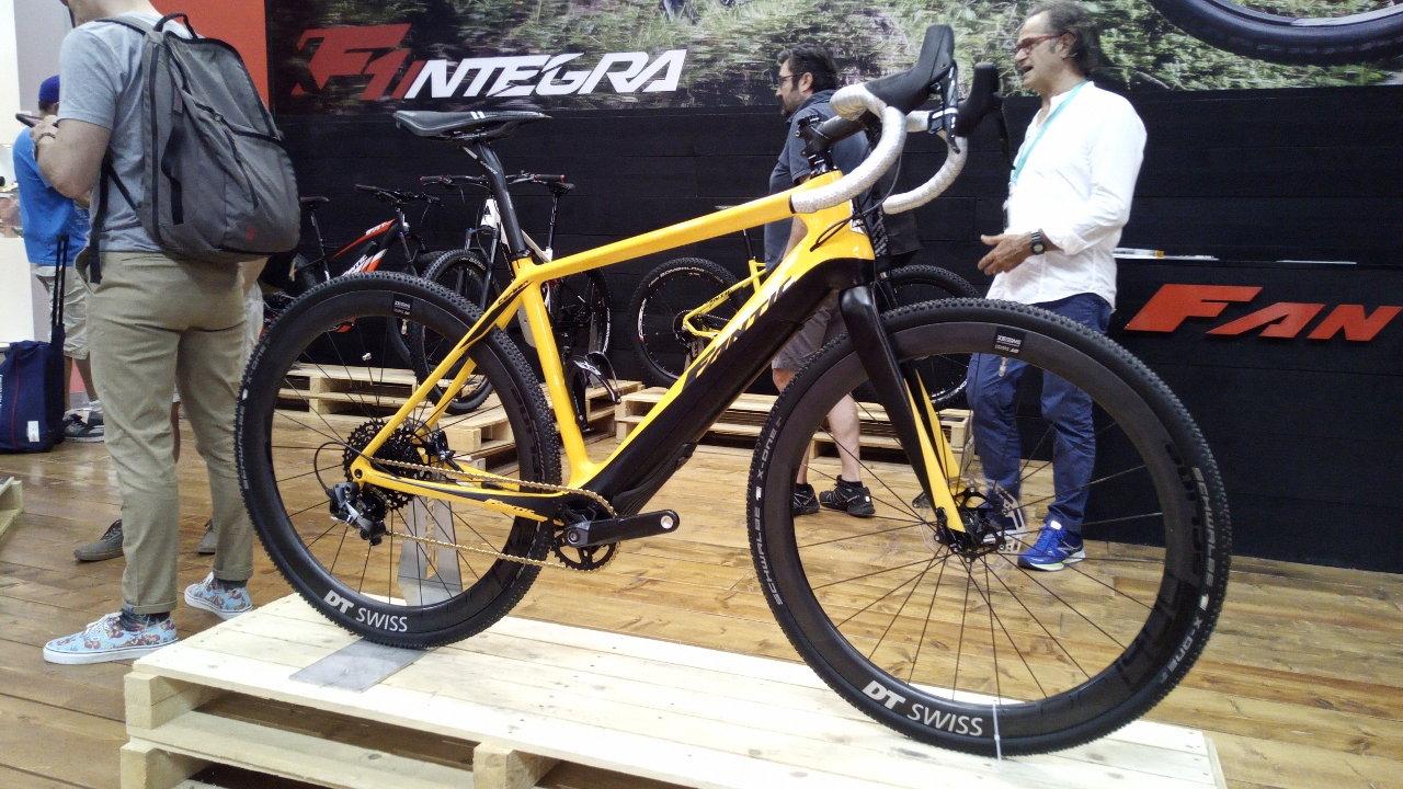 Fantic Gravel E-Bike Prototyp